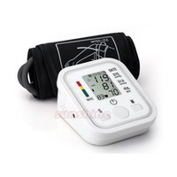Wholesale Digital Pressure Device - Health Care Electronic Portable Digital Blood Pressure Monitor Pumps Device Apparatus For Gauge Heart Rate Medical Tonometer