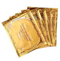 ingrosso maschera di polvere viso oro-A buon mercato all'ingrosso oro bio-collagene maschera facciale maschera di cristallo oro polvere collagene maschera facciale idratante anti-invecchiamento 24k maschere d'oro