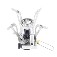 Wholesale Portable Gas Camping Stove - portable Outdoor camping Picnic Gas propane Stove cookware 3000W Folding Stainless Steel Automatically Strike Fire Cooking ware