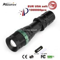 lanterna e3 venda por atacado-E3 1200LM Zoomable LED Lanterna Tocha Zoom Lâmpada Luz XPE Q5 ajustável LED Lanterna Black linternas