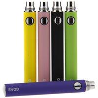 Wholesale E Cigarette Battery V W - e Cigarette Battery 650mAh 900mAh 1100mAh 510 Thread Battery Ego Series Batteies For Ego-W ego-t ego-c ego-v Evod MT3 Atomizers Fit CE4 CE5