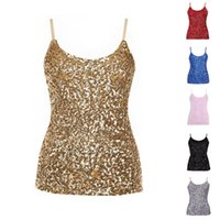 Wholesale Ladies Camisoles Colors - Fashion Women Summer Style Tank Top Sexy Nightclub Camisole Sleeveless Shirt Lady Tight Camisole One Size 6 Colors XD0303 salebags
