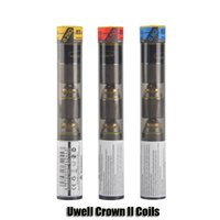 Wholesale Head Crowns - 100% Original Uwell Crown II Coils 0.25 0.5 0.8ohm Replacement Coil Head For Uwell Crown 2 Atomizer