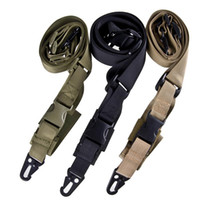 Wholesale Gun Sling Airsoft - Sinairsoft 3 Point Quick Detach Sling Strap Release Three Point Rifle AR Sling Adjustable Tactical Airsoft Gun Strap Hunting Rifle Lanyard