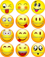 Wholesale Faces Sporting Good - Free shipping Smiley face Snap button Charm Popper for Snap Jewelry good quality 12pcs   lot Gl312 Jewelry making DIY