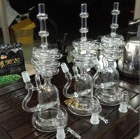 narguilé vente achat en gros de-Bongs en verre fumants de narguilés en verre avec 14,4 mm bol en verre mixte et percolateurs à turbine meilleurs tuyaux d'eau de qualité à vendre