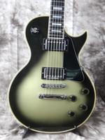 Wholesale Guitar Cream - Custom Vintage Silver Burst Electric Guitar Cream Body Binding Chrome Hardware Top Selling