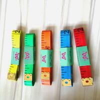 paño de cinta al por mayor-Longitud de cinta métrica 150Cm Regla suave Costura a medida Herramienta de regla de medición Regla de tela para niños Cinta de sastrería de calidad superior Medidas de cinta (7)