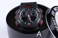 Wholesale mm key - Newest Men GA100 Sports Watches Waterproof wristwatches key-2 Luxury Digital Watch with original box