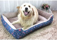 Wholesale Large Breed Cat - good quality the cowboy dog kennel Golden retriever Teddy pet bed large breed dog bed cushion cat litter