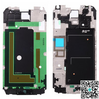 Wholesale Wholesale Faceplates Cell Phones - Best Original Faceplates Housing for Samsung Galaxy S5 Cheap Cell Phone Replacement Parts Front Frame Bezel Housings for G900F S5G900FH