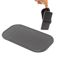 mobiltelefonmatte großhandel-Leistungsfähige Silikagel-magische klebrige Auflage-Mobiltelefon-Antibeleg-nicht Beleg-Matte für beweglichen Handy PDA mp3 mp4 Autozubehör