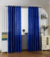 Wholesale Modern Curtains Designs - Creative Design Voile Curtain Modern Style Solid Color Window Curtains Multicolor Optional For Home Bedroom Decorate 12 3xs C