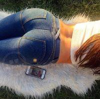 Wholesale bohemian yoga pants resale online - Honey Peach Hip Close Lift The Hips High Elastic Woman Fund Cowboy Edition Trousers Motion Yoga Bodybuilding Pants
