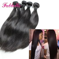 ingrosso tessuto brasiliano peruviano-Bestseller Red Indian Remy Hair Weave Brasiliano Peruviano Indiano Capelli lisci Non trattata Cheap Hair Extension 3 Bundles Deal