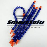 """Wholesale Flat Nozzles - 5pcs Flexible 1 4"""" PT Flat Nozzle Water Cooling Oil Coolant Pipe Hose for CNC Lathe Milling, CNC cooling hose"""