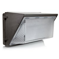Wholesale Led Wells - UL DLC Approve Outdoor LED Wall Pack Light 100W 120W Industrial Wall Mount Lighting Lamp Daylights 5000K AC 90-277V With Mean Well Driver