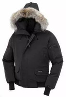 Wholesale Men S Canada Parka - 2017 canada New Arrival sale WOmen's Down parka Chateau Black Navy Gray Jacket Winter Coat Parka Fur Sale With Free Shipping Outlet c-02
