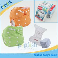 Wholesale Baby Wizard Diapers - Washable Reusable Nappies Baby Wizard Modern Cloth Diaper Popfish Adjustable Kids Diaper Cover Free Size Girl Boy Nappy Chaning