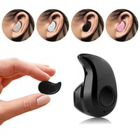 Wholesale best mini bluetooth for iphone resale online - Best S530 Mini Wireless Bluetooth Headset Earphone Handsfree V4 Invisible Stereo Headphone with MIC Music Answer Call for iPhone Samsung