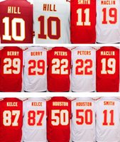 Wholesale Mens 87 - 2017 mens Elite 87 Travis Kelce 22 Marcus Peters 29 Eric Berry 10 Tyreek Hill 11 Alex Smith 50 Justin Houston Jersey