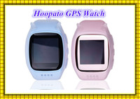 Wholesale English Cartoon For Children - 2016 hoopato smart watch Cute Smart Baby Watch Cartoon Hoopato SIM SOS GPS Wearable Devieces For Android Iphone Smartwatch For Children