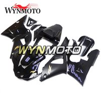 Kit completi per Yamaha YZF R1 2000 2001 Decalcomanie in oro nero per motocicletta in ABS