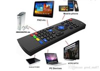 Genuine X8 Keyboard Fly AirMouse Mini Wireless Remote G Sensing Gyroscope Sensor MIC Combo MX3-M para MXQ M8S Amlogic S905 STB Android TV BOX