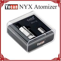 Wholesale Glasses Sp - [ sp ] Original Yocan NYX atomizer Wax atomizer airfolw button control replacement coil 0.8ohm Quartz dual coil Electronic cigarette