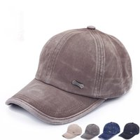 Wholesale Cadet Hats Wholesalers - New Summer Style Cadet Military Baseball Sport Cap Mens Womens Classic Adjustable Army Plain Hat Hot Selling & Wholesale
