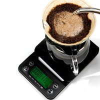 Wholesale Digital Kg - 3 kg 0.1g Drip Coffee Scale with Timer Electronic Digital Kitchen Scale New Design High Precision