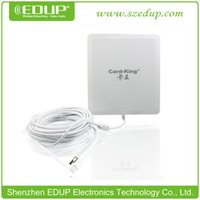 Wholesale Outdoor Ethernet - Outdoor 150Mbp wifi network card EDUP KW-1505N Ralink3070 Chipset 802.11N USB Wireless Lan Card with 24dBi antenna