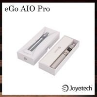 Wholesale Pro Ego Batteries - Joyetech eGo AIO Pro Kit All-in-one System 4ml Capacity 2300mah Battery Innovative Anti-leaking Structure Child Lock 100% Original