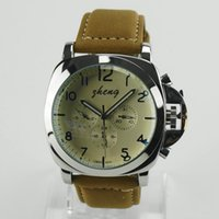Wholesale Choice Silicone Watch - Automatic luxury watch simple design fashion stainless steel shell and leather strap Mechanical watches , the best choice of man