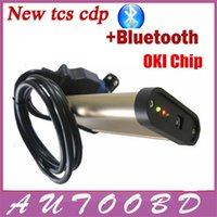 Wholesale Porsche Gold - Quality A+Gold TCS Cdp PRO Plus oki chip Multi-languages 2013.03 Version for Cars Trucks With Kengen in CD free activate any time