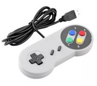 joystick do tablet pc venda por atacado-Clássico Controlador USB Controladores de PC Gamepad Joypad Joystick Substituição para Super Nintendo SF para SNES NES Tablet PC LaWindows MAC 20 pcs