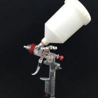 Wholesale Gun Washing Machine - SAT1191-AP free shipping spray guns for painting cars auto paint machine pressure paint cup 1.7 nozzle