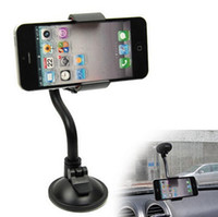Wholesale phone holder suction cup online – Car Mount Holder With Degree Rotation Suction Cup Universal Windshield Cell Phone Holder for Apple iPhone S PLUS samsung S7 DB010