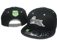 Wholesale New Hot Nrl South Sydney Rabbitohs Snapback Hat Nrl Teams Snapbacks Men Women Beach Sun Hats Outdoor Cap Ball Caps DDMY