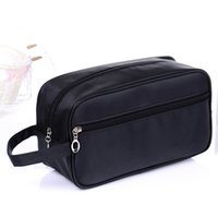 Wholesale Cosmetics For Men - waterproof nylon cosmetic bag travel toiletry organizer for men zipper beauty case fashion make up box
