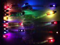 câble d'éclairage rétractable achat en gros de-Micro câble USB Éclairage LED Données Sync Chargeur Câble Rétractable Printemps Enroulé Cordon Pour Samsung Galaxy S3 Note3 Câbles de Téléphone Android