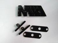 NEW 1pcs M power Motorsport Metal Logo Car Sticker Rear Trunk Emblem Grill Badge for E46 E30 E34 E36 E39 E53 E60 E90 F10 F30 M3 M5 M6