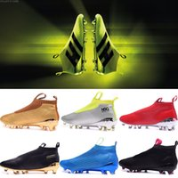 Hot Enfants Hommes Femmes contrôle pur Ace 16+ purecontrol Football FG AG Football Boost Crampons de football Bottes Chaussures de football