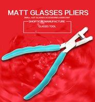 glasses nose pads achat en gros de-lunettes pince mate ajuster pont de nez pad outil de bonne qualité différents modèle lunettes outil livraison gratuite gros Q009