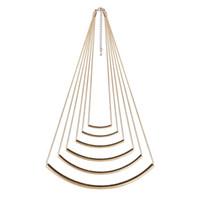 Wholesale Multi Level Necklace - Fine layer Snake Chain Necklace Multi-level necklace, free shipping 1pcs lot drop shipping
