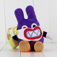 Wholesale Free Rabbit Games - 22cm Super Mario Thief Nabbit Rabbit Plush Soft Stuffed Doll Toy for kids gift toy free shipping retail