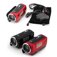 Wholesale Portable Tft - Shockproof Digital Camera HD Camcorder Portable Digital Video Camcorder HD 720P 16 MP 2.4'' TFT LCD Screen 16x Zoom Camera Recorder