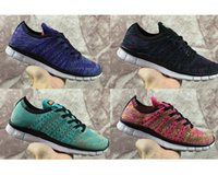 Wholesale Cheapest Running Shoes For Women - High Qaulity Cheapest Free 5.0 Knit Breathable Men Women casual shoes Running Sport Shoes For Men