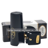 Wholesale ligature for alto saxophone - Wholesale- ROVNER MARK III C-1RL alto bakelite mouthpiece special ligature