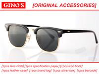 Wholesale Womens Hot Pink Tops - mew hot sale factory wholesale top quality 51mm half frame designer club sunglasses Womens Mens master UV400 protecton mirror sunglass gafas